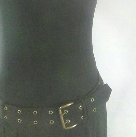 ABS Allen Schwartz Dresses | Abs Black Lace Lined Midi Dress | Poshmark